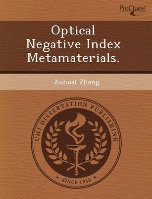 Optical Negative Index Metamaterials