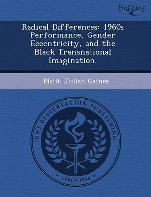 Radical Differences: 1960s Performance