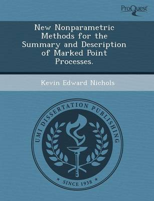 New Nonparametric Methods for the Summary and Description of Marked Point Processes