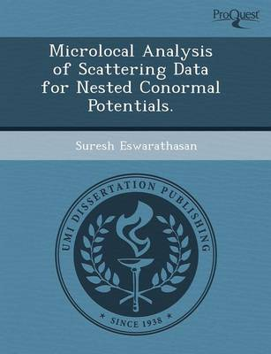 Microlocal Analysis of Scattering Data for Nested Conormal Potentials