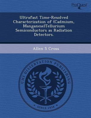 Ultrafast Time-Resolved Characterization of (Cadmium
