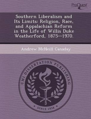 Southern Liberalism and Its Limits: Religion