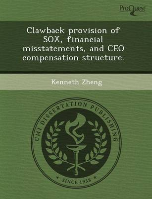 Clawback Provision of Sox