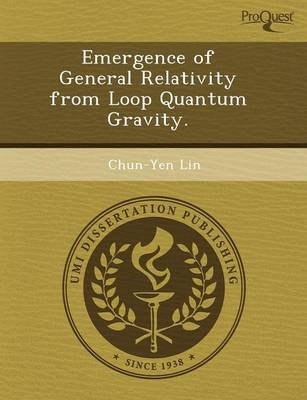 Emergence of General Relativity from Loop Quantum Gravity