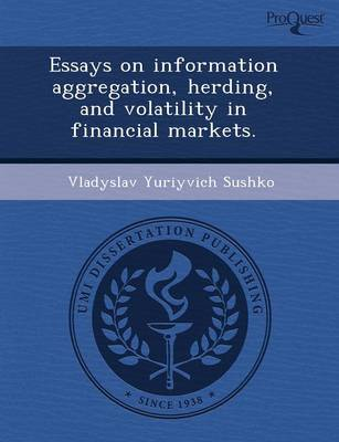 Essays on Information Aggregation