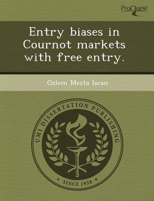 Entry Biases in Cournot Markets with Free Entry