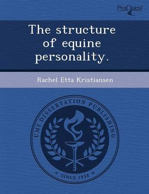 The Structure of Equine Personality