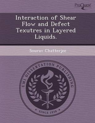 Interaction of Shear Flow and Defect Texutres in Layered Liquids