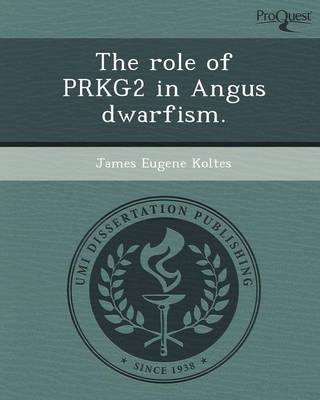 The Role of Prkg2 in Angus Dwarfism