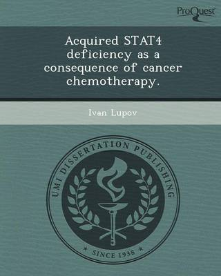 Acquired Stat4 Deficiency as a Consequence of Cancer Chemotherapy