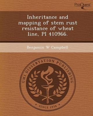Inheritance and Mapping of Stem Rust Resistance of Wheat Line