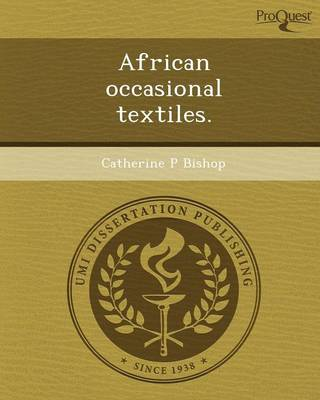 African Occasional Textiles