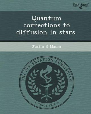 Quantum Corrections to Diffusion in Stars