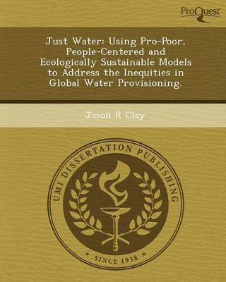 Just Water: Using Pro-Poor