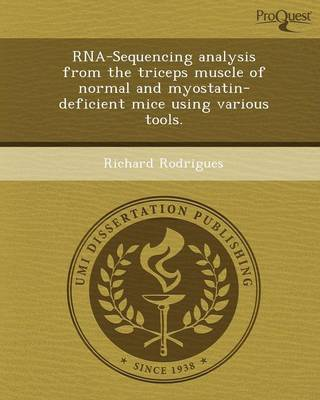 RNA-Sequencing Analysis from the Triceps Muscle of Normal and Myostatin-Deficient Mice Using Various Tools