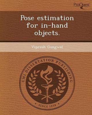 Pose Estimation for In-Hand Objects
