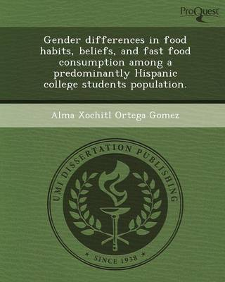 Gender Differences in Food Habits