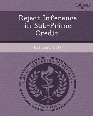 Reject Inference in Sub-Prime Credit