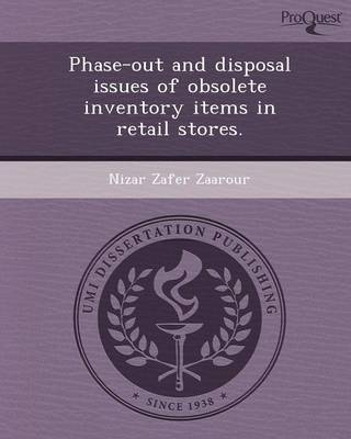 Phase-Out and Disposal Issues of Obsolete Inventory Items in Retail Stores