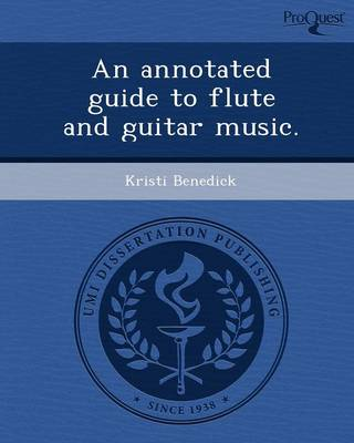 An Annotated Guide to Flute and Guitar Music