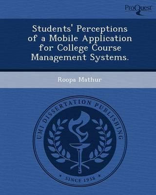 Students' Perceptions of a Mobile Application for College Course Management Systems