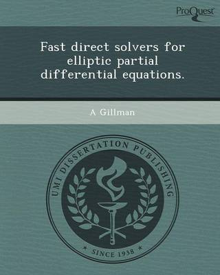 Fast Direct Solvers for Elliptic Partial Differential Equations
