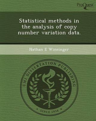 Statistical Methods in the Analysis of Copy Number Variation Data