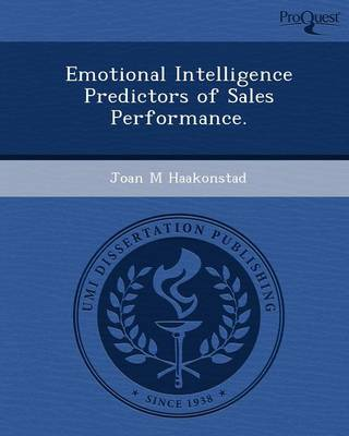 Emotional Intelligence Predictors of Sales Performance