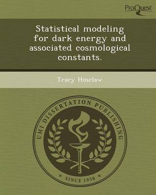 Statistical Modeling for Dark Energy and Associated Cosmological Constants