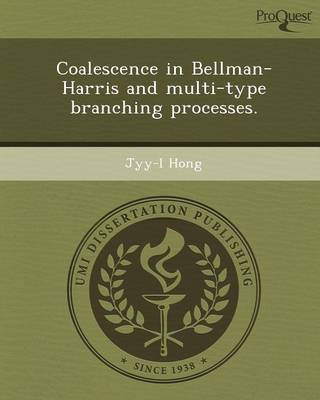 Coalescence in Bellman-Harris and Multi-Type Branching Processes