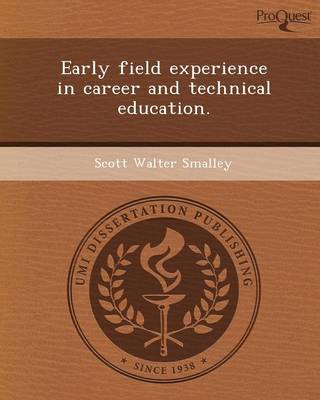 Early Field Experience in Career and Technical Education