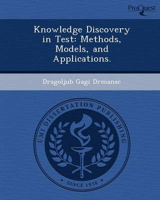 Knowledge Discovery in Test: Methods