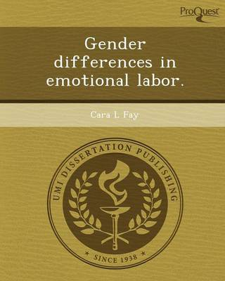 Gender Differences in Emotional Labor