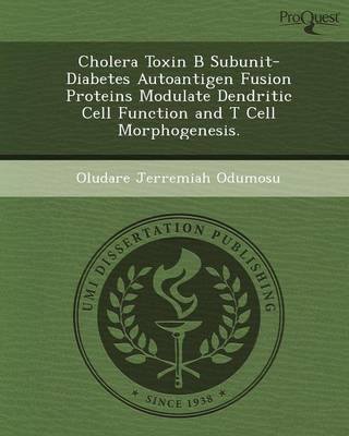 Cholera Toxin B Subunit-Diabetes Autoantigen Fusion Proteins Modulate Dendritic Cell Function and T Cell Morphogenesis