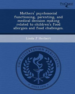 Mothers' Psychosocial Functioning