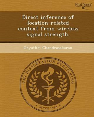Direct Inference of Location-Related Context from Wireless Signal Strength