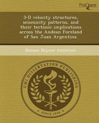 3-D Velocity Structures