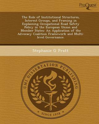 The Role of Institutional Structures