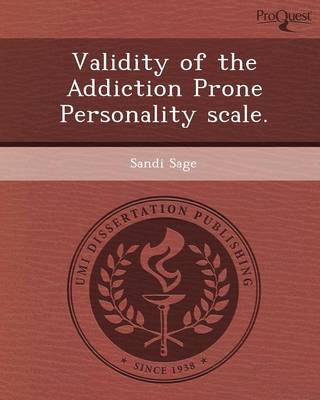 Validity of the Addiction Prone Personality Scale