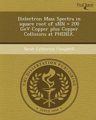 Dielectron Mass Spectra in Square Root of Snn = 200 Gev Copper Plus Copper Collisions at Phenix
