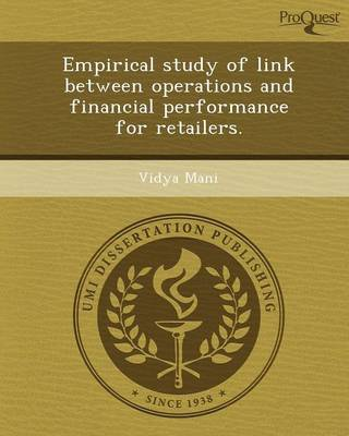Empirical Study of Link Between Operations and Financial Performance for Retailers