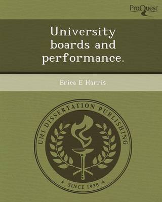 University Boards and Performance