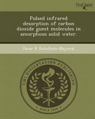 Pulsed Infrared Desorption of Carbon Dioxide Guest Molecules in Amorphous Solid Water