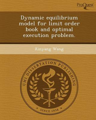 Dynamic Equilibrium Model for Limit Order Book and Optimal Execution Problem
