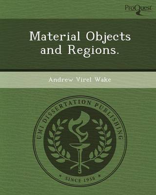 Material Objects and Regions