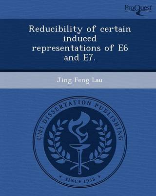 Reducibility of Certain Induced Representations of E6 and E7