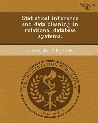 Statistical Inference and Data Cleaning in Relational Database Systems