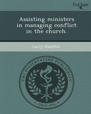 Assisting Ministers in Managing Conflict in the Church