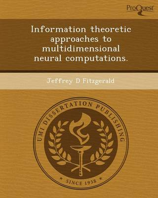 Information Theoretic Approaches to Multidimensional Neural Computations