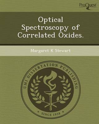 Optical Spectroscopy of Correlated Oxides
